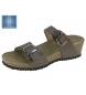 Compar Beppi Bronze wedge shoe