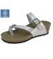 Sandalias de cuña plata -Altura cuña: 4cm-