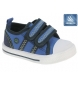 Compar Beppi Blue canvas shoe