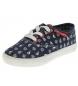Compar Beppi Navy canvas shoe