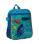 Mochila preescolar Finding Dory Oceans bolsillo frontal -23x28x10cm-