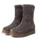 Comprar Carmela Bota de piel 066416 gris