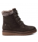 Compar Carmela Boot leather cordoneras 066415 gray