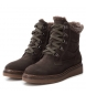 Comprar Carmela Boot en cuir cordoneras 066415 gris