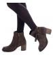Comprar Carmela Botte en cuir marron 066372