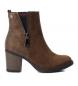 Compar Carmela Chelsea leather boot 066600 camel