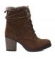 Compar Carmela Lace-up heel bootlace 066373 camel