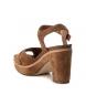 Comprar Carmela Sandalias de piel bios 066684 camel -Altura tacón: 10cm-