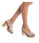 Comprar Carmela Sandalias de piel 066686 taupe -Altura tacón: 10cm-