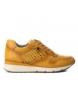 Zapatillas de piel 066748 amarillo