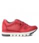 Zapatillas de piel  066793 rojo