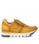 Zapatillas de piel  066792 amarillo