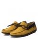 Comprar Carmela Mocassim de couro 066812 amarelo