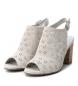 Comprar Carmela Sandalo in pelle 066680 ghiaccio - Altezza tacco: 9cm