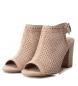 Comprar Carmela Leather sandals 066681 nude -High heel: 9cm