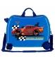 Comprar Cars Maleta correpasillos 2 ruedas multidireccionales McQueen Azul -38x50x20cm-