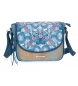 Compar Catalina Estrada Catalina Estrada Faisan shoulder bag with flap Blue