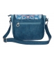 Comprar Catalina Estrada Catalina Estrada Faisan shoulder bag with flap Blue