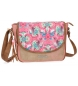 Compar Catalina Estrada Catalina Estrada Faisan shoulder bag with Beige flap