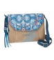 Compar Catalina Estrada Catalina Estrada Faisan shoulder bag type on Blue