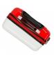 Comprar Catalina Estrada Maleta de cabina Abanico rígida roja -38x55x20cm-