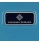 Comprar Catalina Estrada Catalina Estrada cabina valigia Faisan 55 centimetri rigida Blu