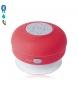 Compar Tekkiwear by DAM Vivavoce Bluetooth Rariax con ventosa, resistente agli spruzzi, speciale doccia rossa