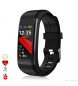 Compar Tekkiwear by DAM AK-R1 smart bracelet with blood O2 mini monitor and black blood pressure