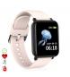 Compar Tekkiwear by DAM AK-R16 smart bracelet with pink O2 blood O2 measurement