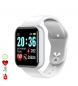 Compar Tekkiwear by DAM AK-Y68 Smart Bracelet with Heart and Blood Pressure Monitor White