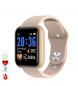 Compar Tekkiwear by DAM AK-Y68 Smart Bracelet with heart rate and blood pressure monitor pink
