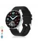 Compar Tekkiwear by DAM Smart H30 multisport bracelet with heart monitor, black customizable dial