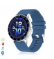 Compar Tekkiwear by DAM Smart H30 multisport wristband with heart monitor, customisable blue dial