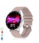 Compar Tekkiwear by DAM H30 multi-sport smart bracelet with heart rate monitor, beige customisable dial