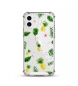 Compar Tekkiwear by DAM Alloggiamento in TPU altamente protetto con design tropicale per iPhone 12 e 12 Pro