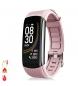 Compar Tekkiwear by DAM Smart bracelet T118 with body temperature measurement, blood O2 and pink blood pressure