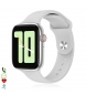 Compar Tekkiwear by DAM Smartwatch AW2 bluetooth 4.0 with heart rate monitor, sport mode and white SIM option