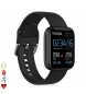 Compar Tekkiwear by DAM Smartwatch P6 with 7 sport modes, blood oxygen, pulse, iOS and Android notifications black