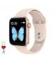 Compar Tekkiwear by DAM Smartwatch T500 Plus multisport with gold heart monitor