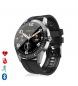 Compar Tekkiwear by DAM Smartwatch Y20 multisport with heart monitor, waterproof, black customizable dial
