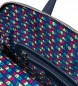 Comprar Desigual Logomaniacal backpack Nanaimo blue -28x11x35 cm