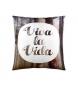 Funda de cojín Viva la vida -50x50cm-