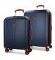 Compar El Potro Juego de maletas El Potro Ocuri azul 55-70cm