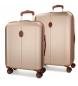 Compar El Potro Juego de maletas El Potro Ocuri champagne 55-70cm