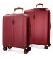 Compar El Potro Set of suitcases El Potro Ocuri red 55-70cm