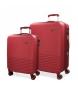 Compar El Potro Juego de maletas El Potro Ride rojo -36L/78L-