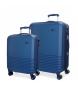 Compar El Potro Juego de maletas El Potro Ride azul -36L/78L-