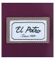 Comprar El Potro Mala El Potro Tubo compartimento duplo 15,6 polegadas Bordeaux -41x30x10cm-