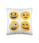 Cojín Emoji Happy -40x40 cm-