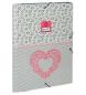 Carpeta con gomas Enso Heart -25,7x33,5x0,5cm-